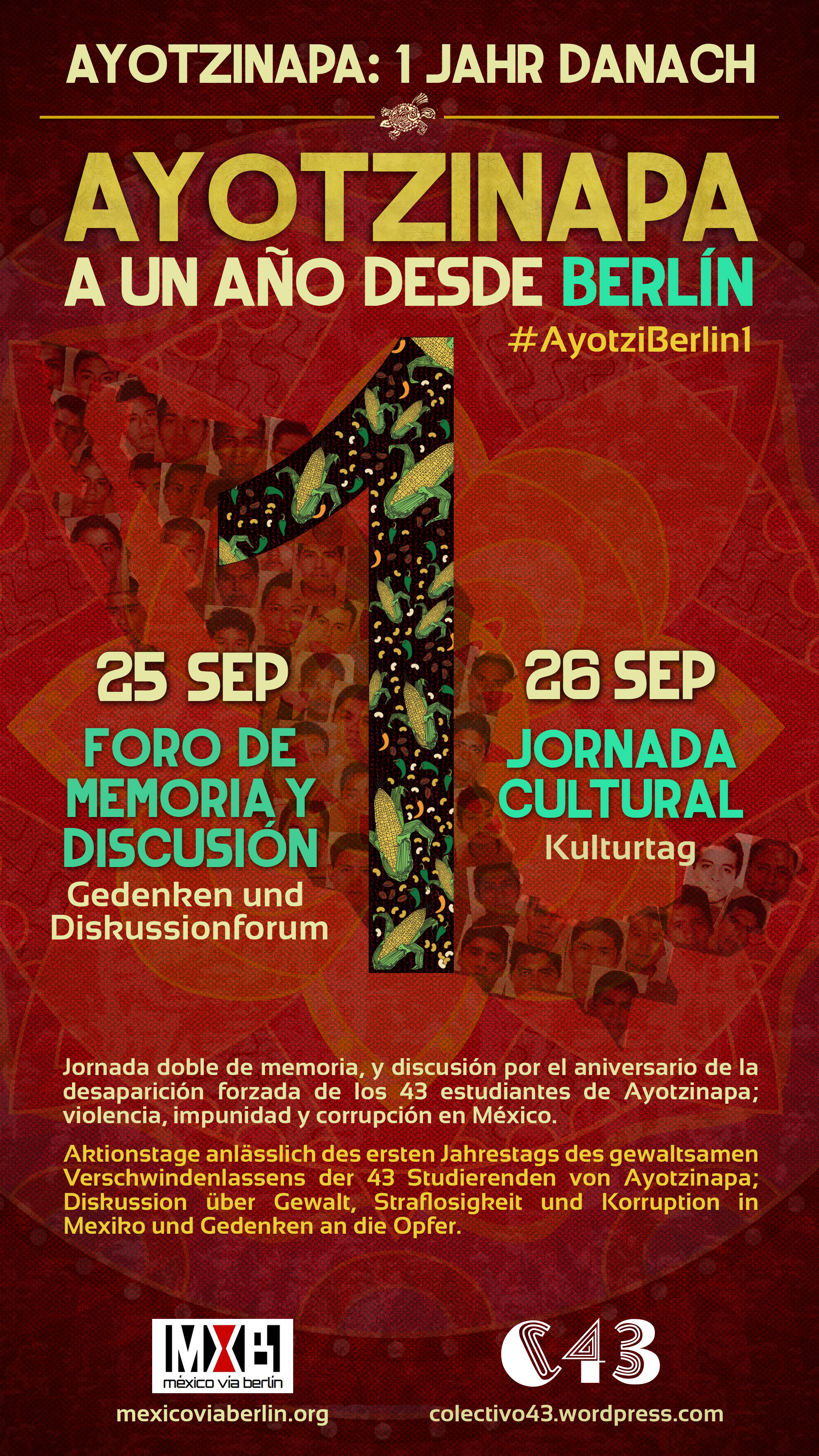 Cartel general Ayotzinapa-Berlin