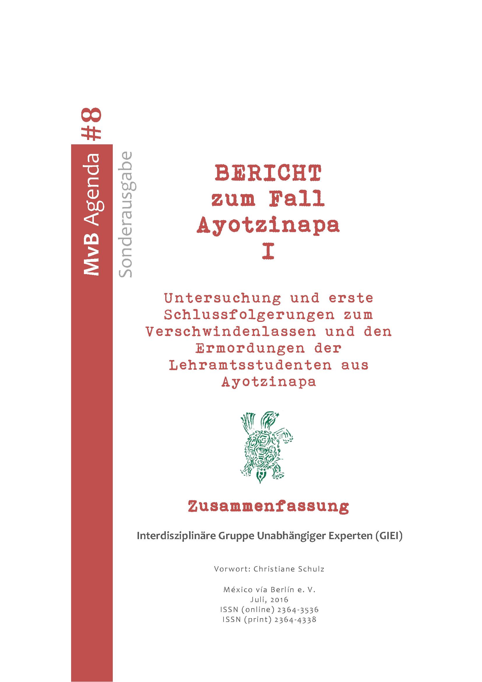 Bericht zum Fall Ayotzinapa GIEI Deutsch