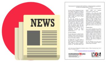 Nota de Prensa: El Caso Sig Sauer en México